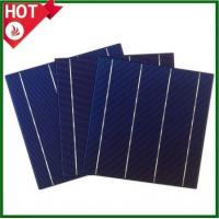 Buy cheap 6inch poly solar cells with 3BB / 4BB, 156*156mm multi-crystalline solar cells for cheap sale from wholesalers