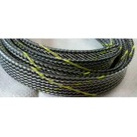 Buy cheap Flame Resistance PET Cable Expandable Sleeving For Wire Harness Protection from wholesalers