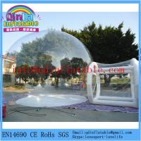 Buy cheap Hot sale brand new install convenient transparent inflatable bubble tent for camping from wholesalers