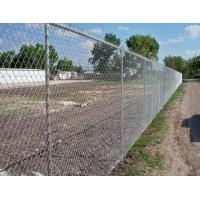 Buy cheap Low Carbon Iron Wire Metal Chain Link Fence / Baseball Field Fence With Accessories from wholesalers