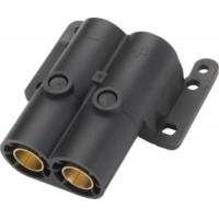 Buy cheap Customized Pole Trailer Electrical Connector Black 24V Trailer Power Connector from wholesalers