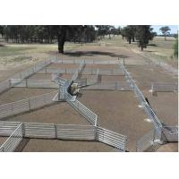 Buy cheap Green Color Livestock Metal Fence Panels For Cattle / Horse / Sheep 6'H*8'L from wholesalers