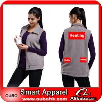 Buy cheap Women Vest With High-Tech Electric Heating System Battery Heated Clothing Warm OUBOHK from wholesalers