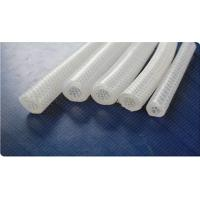 Buy cheap High Pressure Braided Silicone Tubing , Reinforced Rubber Hose Non - Toxic from wholesalers