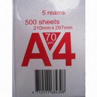 Wholesale Copy/Photo Copy/A4 Paper, Double A from china suppliers