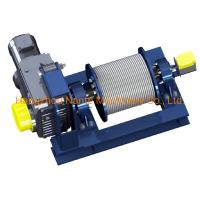 Buy cheap Construction Winch Electric Hoist Lifting Winch NW Series with Motor from wholesalers