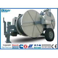 Buy cheap 2 x 70kN Double Bundle Overhead Line Stringing Equipment , Hydraulic Puller Tensioner from wholesalers
