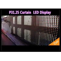 Buy cheap Transparent See - Through Curtain IP 65 , Rental LED Media Facade for Advertising from wholesalers