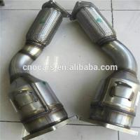 Wholesale Three Way Car Catalytic Converter Shell for Porsche Cayenne Turbo Cleaner 955113021BX 955113022BX from china suppliers