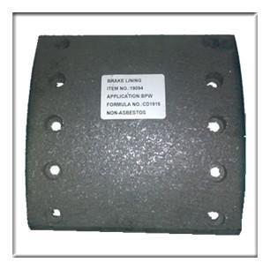 Buy cheap truck brake lining,drum brake lining WVA19094, brake parts,brake liner,brake blocks from wholesalers