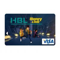 Buy cheap Business club mini hologram visa smart debit card with hico - magstripe from wholesalers