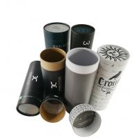 Buy cheap Biodegradable Child Proof Jar Airtight Container Electronic Cardboard Tube Packaging from wholesalers