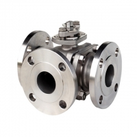 Buy cheap Flanged End SS316 V Port Fluids Asme Control Ball Valves from wholesalers