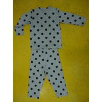Wholesale Rayon Spandex Children'S Cotton Pajamas Polka Dot Pajama Set Playwear 2pc from china suppliers