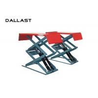 Wholesale Hydraulic Cylinder Scissor Hoist / Scissor Lift Mechanism Design / Car Lift from china suppliers