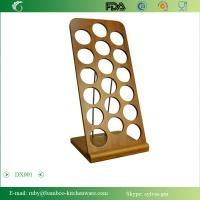 DX001/Bamboo Wooden Spice Jar Shaker Recipe Holder Rack Stand Manufactures