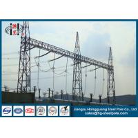Wholesale 10KV - 750KV Steel Substation Steel Structures for Power Transformer  Substation from china suppliers