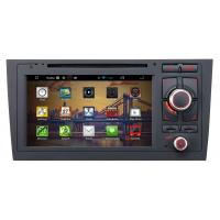 Buy cheap 7 inch android car DVD player for Audi A6 with gps+touch digital screen+steering wheel control from wholesalers