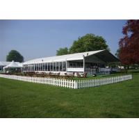 Buy cheap Durable Great Peak Clear Wedding Tents Wind Resistant Environmentally from wholesalers