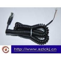 Wholesale Telephone Handset Coil cable ( flat cable) from china suppliers