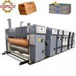 Buy cheap Automatic Corrugated Box Making Machine , Printer Slotter Cardboard Box Making Machine from wholesalers