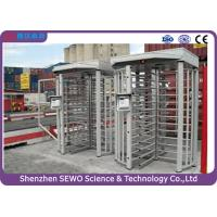 High Quality Brushless Motor Single Channel Security Full Height Turnstile with RFID Card Reader Manufactures