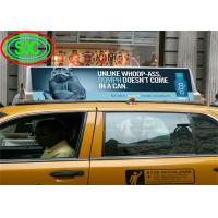 Buy cheap Outdoor Full Color Car LED Sign Display 4.81mm Pitch IP65 Module For Advertising from wholesalers