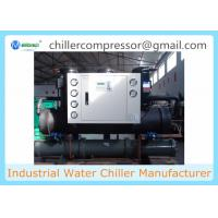 30hp Shell and Tube Evaporator Water Cooled Scroll Water Chiller Manufactures