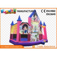 Wholesale Pink or White Commercial Inflatable Bouncy Castle / Inflatable Jumping Bouncer from china suppliers