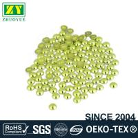 Buy cheap High Color Accuracy Flat Back Metal Studs Good Stickiness With Even Shinning Facets from wholesalers