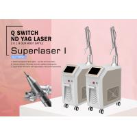 Buy cheap Professional 1064 nm / 532nm Q Switch Nd Yag Laser Tattoo Pigment Birthmark Removal Equipment from wholesalers