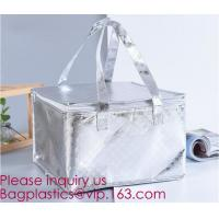Buy cheap Hot Sale Reusable PP Non Woven Insulation Thermal Cooler Bag for Cake/Ice Cream/Frozen Food,Pearl cotton insulation alum from wholesalers