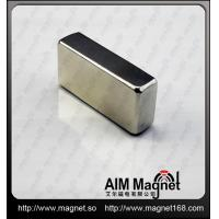 Buy cheap Strong N35 block shaped ndfeb magnet from wholesalers