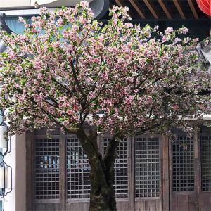 Wholesale Romantic Big Artificial Blossom Tree Sakura Flower Supermarket Decoration from china suppliers