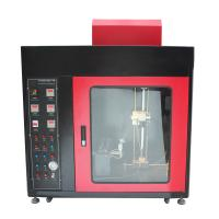 Wholesale Flammability Testing Equipment Touch Screen Horizontal - Vertical And Needle Flame Burning Machine from china suppliers