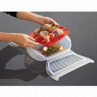 Buy cheap Silicone Steam Case with Draining Tray from wholesalers