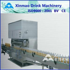 China Glass Bottle Olive Oil Filling Production Line , Volumetric Filling Machine on sale