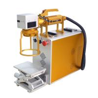 Buy cheap Hand Held Mini Laser Engraving Machine For Metal For Product Date Serial Number from wholesalers