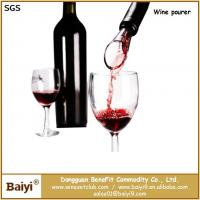 Buy cheap Patent Food Grade Wine Pourer With FDA certification from wholesalers