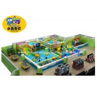 Buy cheap Kids Soft Padded Play Ground Equipment With Ball Pool / Children Indoor Playground from wholesalers