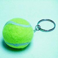 Buy cheap Gift sending tennis ball keychain ,promotional item from wholesalers