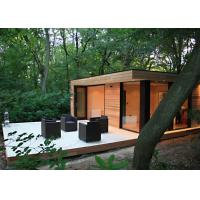 Buy cheap Beautiful Prefab Garden Studio WPC Cladding With Double Glass Windows from wholesalers
