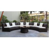 Buy cheap 4 piece -weather resistant PE wicker rattan Star hotel lobby luxury sofa commercial furniture for hotel -16233 from wholesalers