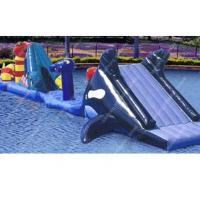 0.9mm Pvc Inflatable Water Toys15m x 6m water proof For backyard Manufactures