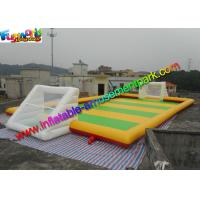 Buy cheap Sewed Inflatable Sports Games Soapy Football Field 20m X 10m from wholesalers