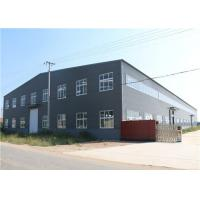 Buy cheap Light Steel Structure / Affordable Metal Frame Homes Prefabricated Warehouse from wholesalers