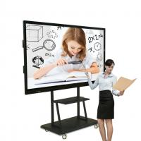 Buy cheap Interactive Multi Touch Digital Signage 75 Inch Aluminum Alloy Frame Material from wholesalers