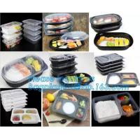 Buy cheap Plastic Food Storage Boxes with Handles Food Crisper Food Storage Bins Organizer Refrigerator Storage Container bagease from wholesalers