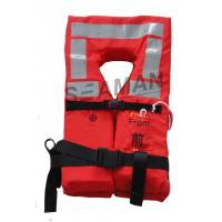 Buy cheap Orange Naval Adult  Boat Marine Life Jacket Lifesaving Lifevest EC / RINA / GL Approval from wholesalers