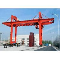 Buy cheap Safety Container Gantry Crane , Rail Mounted Gantry Crane Low Energy Consumption from wholesalers
